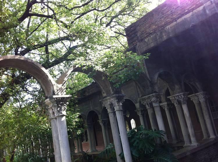 CASA FOA. Patio interno, donde se desarrollarán los espacios de paisajismo.