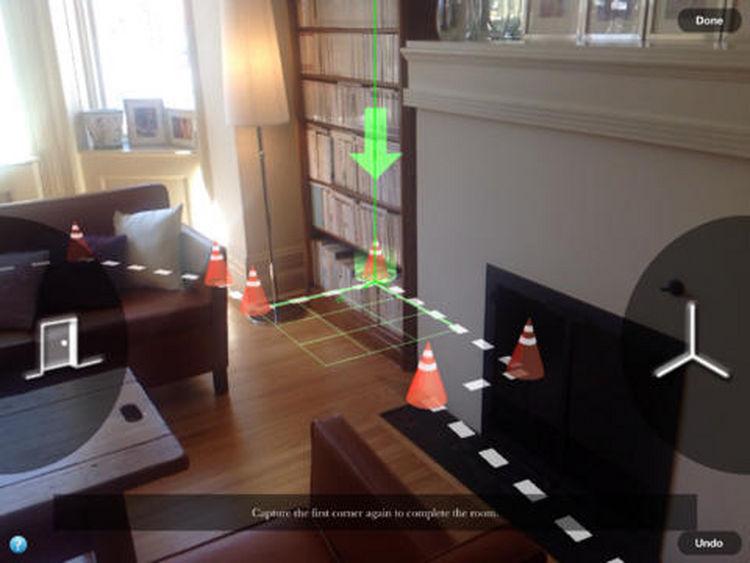 MAGIC PLAN. Esta aplicación permite relevar rápidamente un ambiente y con precisión.