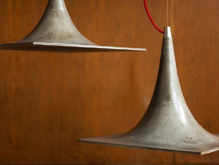 ANDES. De hormigón ultraliviano armado con fibra y acabado artesanal (Mohaded).